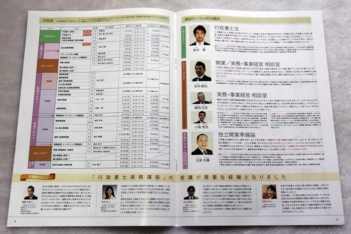伊藤塾の行政書士講座の資料